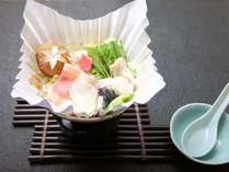 【冬彩御膳】栃木温泉トラフグと冬野菜の河豚鍋
