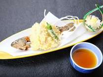 【冬彩御膳】大田原産岩魚の天麩羅