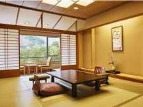 『花見亭』 特別室 露天風呂付(10畳間+ツインベッド)(禁煙)