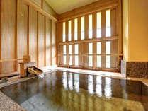 *Dタイプ〔6畳+ベッドルーム+半露天風呂〕/ゆったり広々とした客室露天も源泉かけ流し。