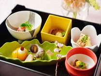 *【会席料理一例】春を彩る季節の会席料理です。