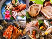 港町の新鮮な海鮮料理と本場かに料理を楽しめる全11室の御宿です!