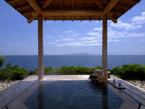 【伽羅】心地よい潮風に吹かれながら伊豆大島を一望。