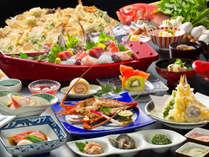 【2017春・北川海幸三昧/一例】伊勢海老や金目鯛など伊豆の幸を堪能できる、美味探求を極めた和懐石。