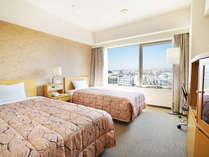 スタンダードツイン(22平米) ベッド幅110㎝当館の人気プラン
