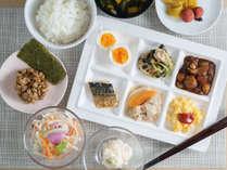 【Organic】日替わりでご提供する健康朝食ビュッフェが無料♪
