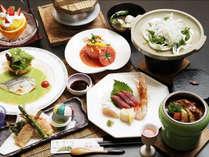 旬の食材を詰め込んだ『和食膳』色とりどりの伊豆の味覚をご堪能いただけます