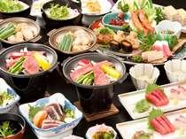 当館人気!選べる陶板&皿鉢料理&かつおのたたきプラン