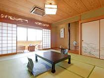 檜、ケヤキの自然の香りに心安らぐお部屋 (和室10畳)