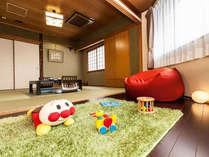 キッズスペース付き和室♪です。和室8畳+キッズスペース