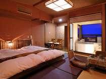 【NEW・オリエンタル露天風呂付客室】モダンアジアな空間で、のんびりとくつろげます
