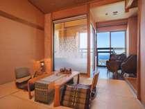 【伊豆大島望む露天風呂付き和室・満月】2018年フルリニューアルしました