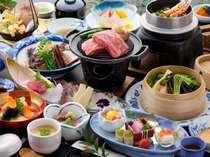【夕食】熊本県産和牛を使った会席