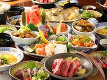 吉萬女将のおすすめ豪華皿鉢の夕食プラン♪