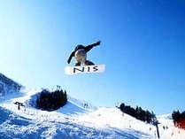 ゲレンデ目の前!スキーにスノーボードに…アクティブに楽しもう!
