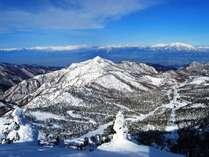 冬の志賀高原を満喫♪雪質最高です!