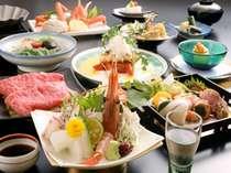 板長の月替わり旬彩会席(お料理の一例)