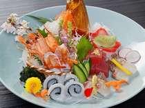 旬魚のお造りイメージ(2名盛)