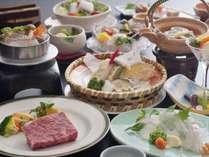 ・[伊予牛ステーキがメインの懐石]厳格な基準をクリアした絹の味ステーキをモダン料亭で