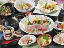 伊予牛&媛ポークが楽しめる「Wステーキ」お料理イメージ