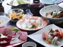 瀬戸内鯛と伊予牛1品付お料理イメージ