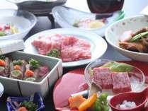 トリプル伊予牛会席お料理イメージ