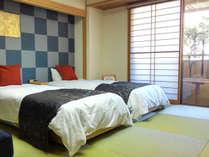 リニューアル1周年◆ツインベッド客室