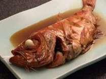 【金目鯛の煮付付き♪】夕食をちょっと贅沢に『金目鯛煮付』プラン