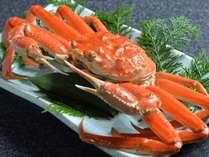 食べ切れなくてお持ち帰りされるお客様が殆ど。茹で蟹。