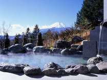 大浴場「満天星の湯」露天風呂