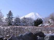 露天風呂からの富士山!(冬季)