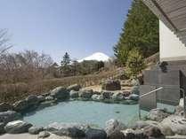 「満天星の湯」露天風呂