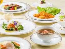 前菜からデザートまで本格中国料理の味をお楽しみください。