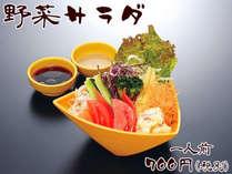 別注料理『野菜サラダ』1人前 700円