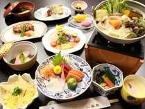 【スタンダード★石庭プラン】1泊2食☆季節で変わる会席料理を堪能♪