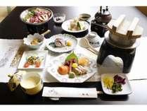 9月から11月の料理写真_松茸プラン
