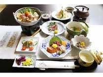 9月から11月の料理写真_石庭プラン