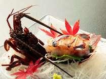 【伊勢海老&2名から金目鯛の煮付け付】勝浦の磯料理と4種類のお風呂で温泉を満喫!