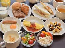 軽朝食バイキング6:30~9:15(9:00最終入店)