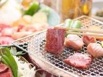 炭火焼と会席風料理 何から食べようかしら・・・