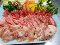 15周年焼肉コース(2)山里懐石よりお肉がいい!!もちろん単品追加もOK(別途料金)