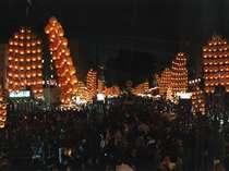 秋田の竿燈祭り