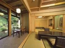 ■和風館・特別室(10畳2間半露天風呂付)