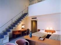 ■本館4階・メゾネットルーム:1階部分