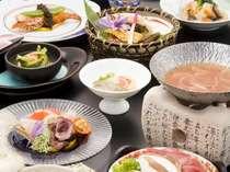 ☆会席料理イメージ☆旬の食材を使用し、季節ごとに変わります。
