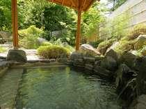 ☆庭園の湯の露天風呂です☆庭園の湯には3つの露天風呂があります。