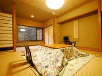 *新館和室(8畳)ゆったりと落ち着いたお部屋です。