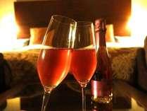 【2食付】じゃらん限定!カップルプラン♪ 無料特典:お部屋で楽しめるスパークリングワイン