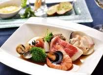 【2食付】瀬戸内産の鮮魚を贅沢に使用!愛媛のブイヤベース「サンク・メール」満喫フレンチプラン