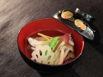 素材本来の味を愉しむ、四季折々の和食